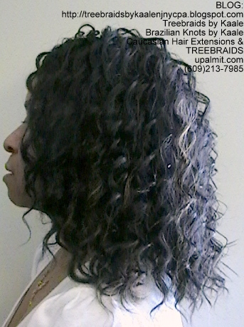 Tree Braids- Individuals with Wavy hair Left2377.