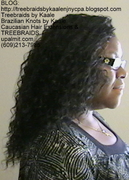 Tree Braids- Individuals with Deep Bulk human hair Right2266.