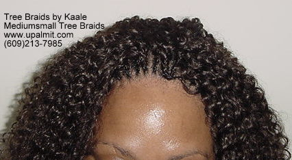 Summer Kinky curly Tree Braids- Top.