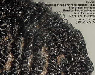 Natural twists with natural kinky, coily hair again Side3006.
