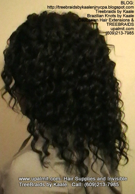 Tree Braids- Cornrows with Deep Bulk human hair, Corporate Left2321.