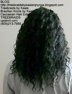 Tree Braids with KAALE human hair Back338.