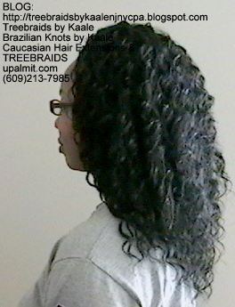 Tree Braids with KAALE human hair Left339.