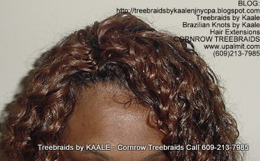 Tree Braids using KAALE Brand Deep Bulk human hair Top212.