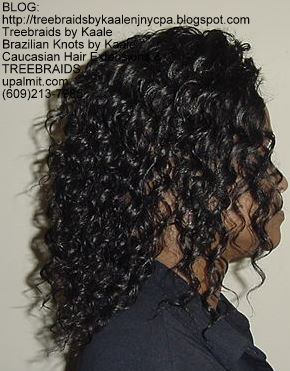 Tree Braids with KAALE human hair Right332.