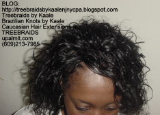 Tree Braids with Wet n Wavy KAALE Brand human hair Top2220.