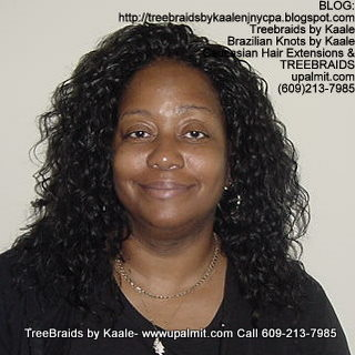 Treebraids with Wavy human hair Front2204.