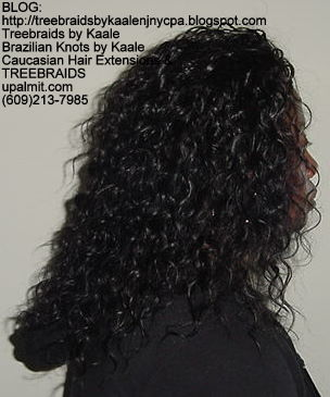 Treebraids with Wavy human hair Right2203.