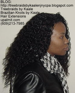 Wavy and Curly Tree Braids- Mediumsmall, R150.