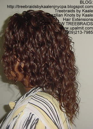 Tree Braids- Tree Braids- wavy human hair Left207.