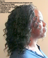 Tree Braids- Cornrows- Cornrows wet n wavy hair, Right2438.