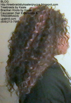 Tree Braids with KAALE Brand Deep Bulk human hair Right348.