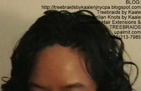 Tree Braids- Cornrows with wavy hair, Top2423.