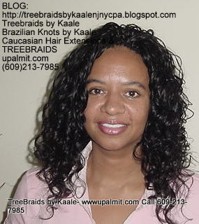 Treebraids with Wavy human hair Front2179.