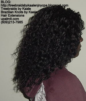 Wavy Individual Treebraids, Large Right124.