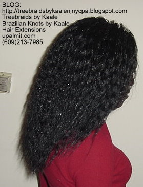 Wavy and Curly Tree Braids- Mediumsmall- Right145.