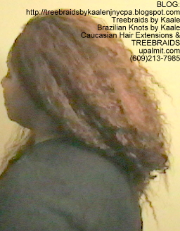 Tree Braids- Individuals with Wet and Wavy human hair Left2257.