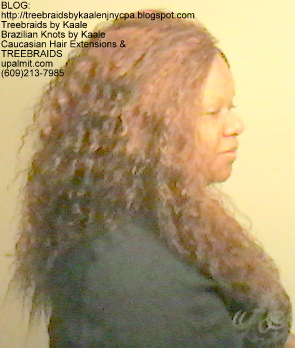 Tree Braids- Individuals with Wet and Wavy human hair Right2258.