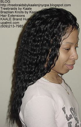 Wet and Wavy Tree Braids, Kaale Brand Right36.