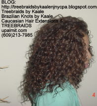 Tree Braids- Deep Wavy human hair Right2223.