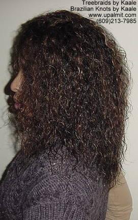 Wavy Tree Braids- Mediumsmall, Left207.