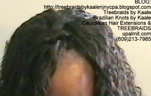 Tree Braids- with Wet and Wavy human hair Top2255.