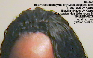 Tree Braids Cornrows, Wet and Wavy human hair- Top2297.