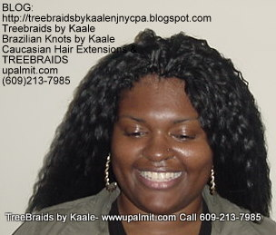 Tree Braids with Wet n Wavy KAALE Brand human hair Top325.