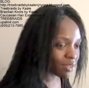 Tree Braids- Cornrows with Wet n Wavy human hair Right2314.