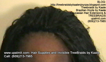 Tree Braids with KAALE Brand Wet n Wavy own human hair Top365.