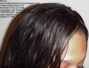 Tree Braids by Kaale used Loose Body Wavy pure Brazilian Remy hair Top31013.