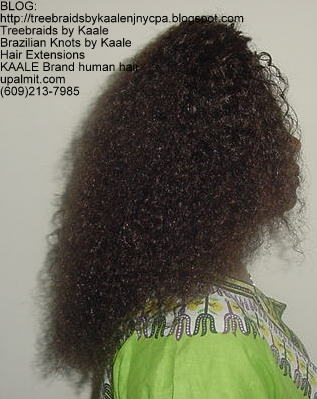 Treebraids by KAALE- Brazilian Virgin Kinky Curly, Right2194.