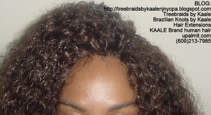 Treebraids by KAALE- Brazilian Virgin Kinky Curly, Top2195.