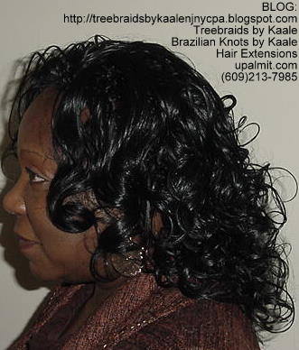 Curly Tree Braids, Kaale Brand hair Left138.