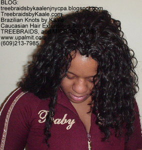 Tree Braids by Kaale, cornrow treebraids in curly 1Front313.