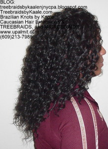 Tree Braids by Kaale, cornrow treebraids in curly 1R313.