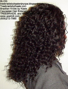 Tree Braids by Kaale- Cornrows with deep bulk hair Right.