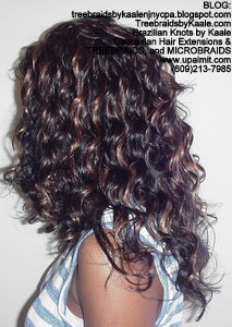 Tree Braids by Kaale, cornrow treebraids in curly A6Left2013.