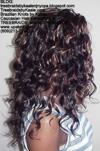 Tree Braids by Kaale, cornrow treebraids in curly A6Right2013.