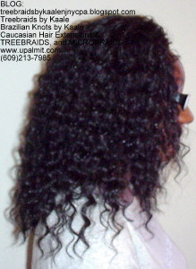 Tree Braids by Kaale- Cornrows with deep bulk hair Be Right.
