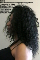 Tree Braids by Kaale- Individuals with curly hair color #1b Left2448.