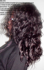 Tree Braids by Kaale, individual treebraids with deep bulk hair Left5.