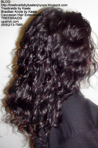 Tree Braids by Kaale, individual treebraids with deep bulk hair Right5.