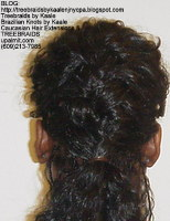 Tree Braids by Kaale- Individual Treebraids with wavy hair MilBack22251.