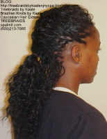 Tree Braids by Kaale- Individual Treebraids with wavy hair MilRight.