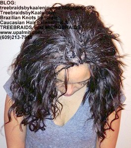 Tree Braids by Kaale- Remy Hair Sales Indian remy deep wave bulk 18
