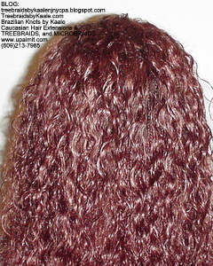 Tree Braids by Kaale- Individual treebraids with wet and wavy hair Back2ManualMix2279.