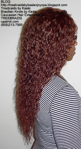 Tree Braids by Kaale- Individual treebraids with wet and wavy hair RightManualMix2281.
