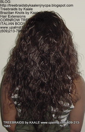 Treebraids by KAALE- Italian Body Wave, Back2188.