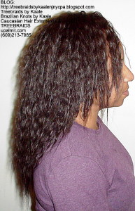 Tree Braids by Kaale- Cornrow treebraids with Spanish bulk hair Right2yrs.
